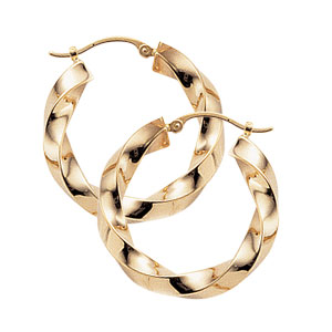 Square Twisted Hoops picture