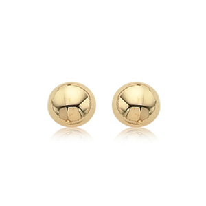 14KGF 8MM POLISHED BUTTON picture