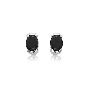 SS 2-7X5 OVAL BLACK ONYX picture