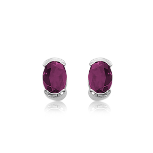 SS 2-7X5 OVAL RHODOLITE picture