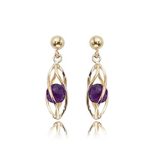 Caged Amethyst Drops picture
