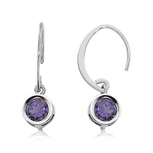 Amethyst Round Drops picture
