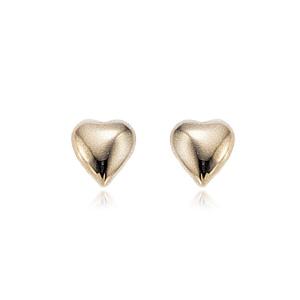 Puffed Heart Buttons image: 14KG PUFFED SHELL HEART