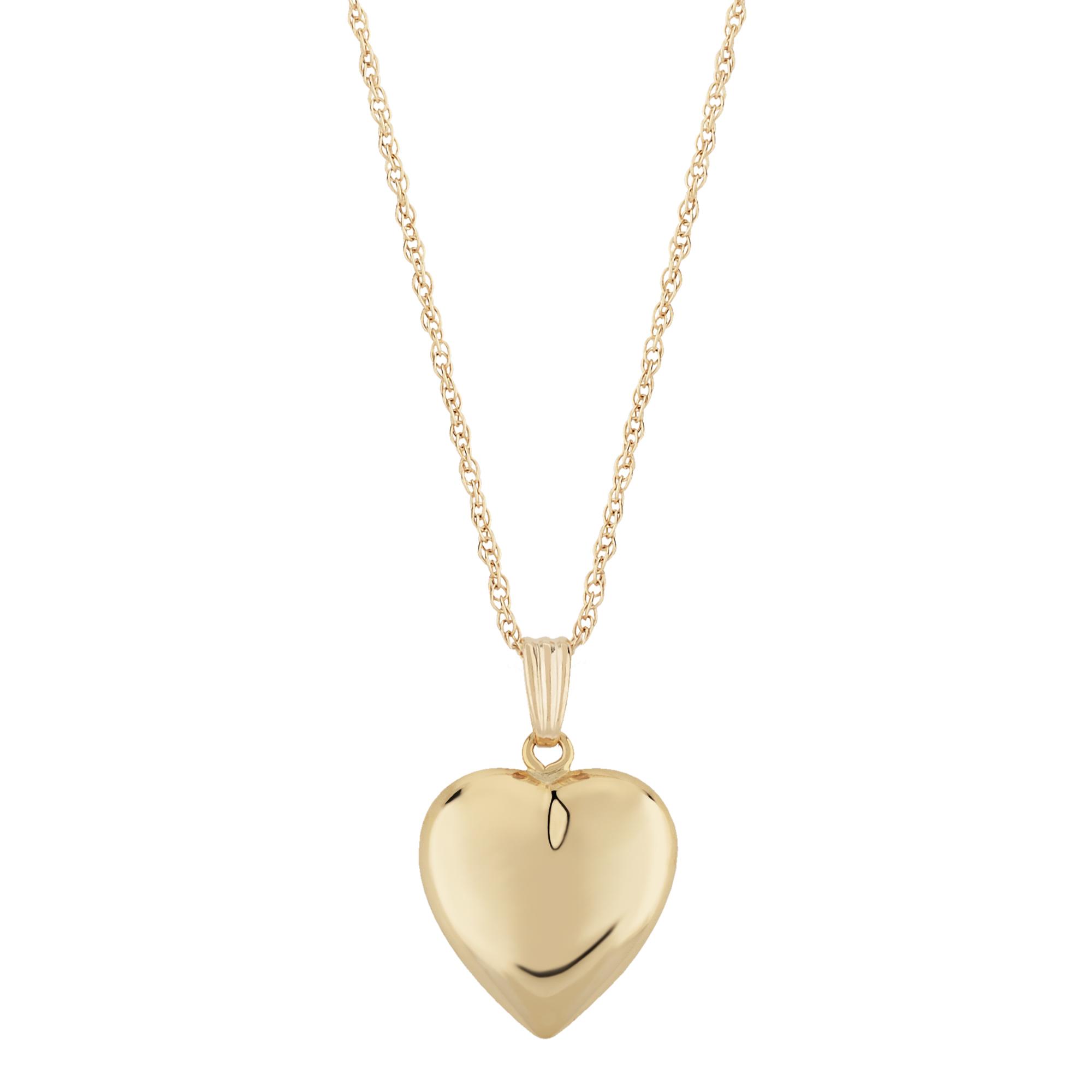 14KG HEART W/18″ CHAIN image