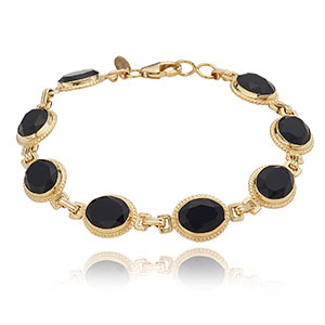 Faceted Onyx Bracelet picture