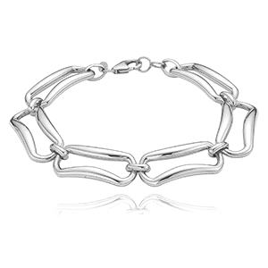 Rectangle Link Bracelet picture