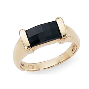 Baguette Onyx Ring picture