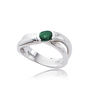SS 6X4 OVAL EMERALD image