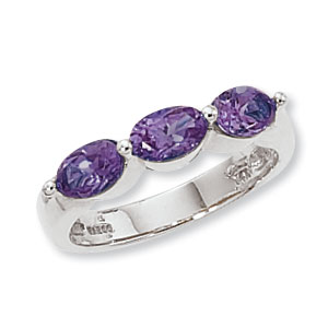 SS 3-6X4MM OVAL-AMETHYST image