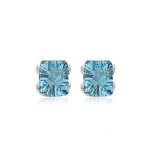 14KW BLUE TOPAZ 2-8X6 EMERALD CUTS image
