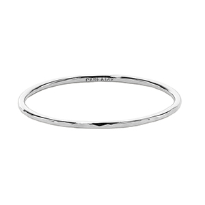 14KW HAMMERED .036 RING SIZE 6 image